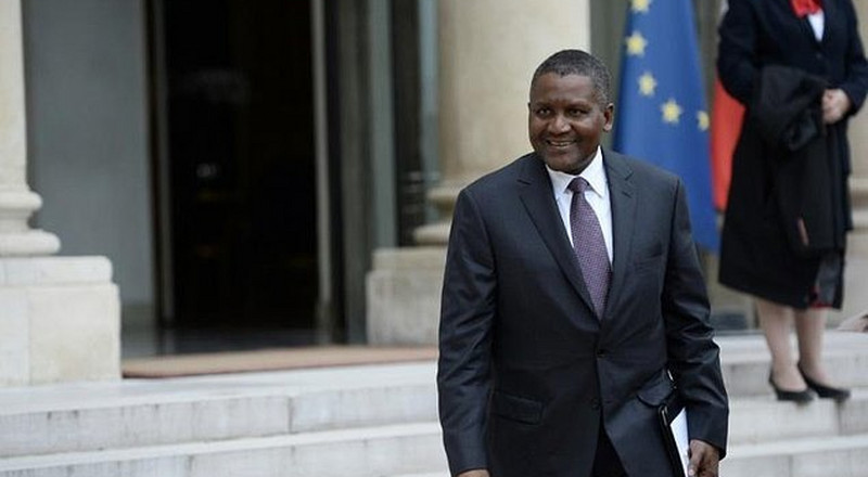 At almost $15 billion, Africa's richest man, Aliko Dangote's net worth is now more than the combined wealth of 2 of South Africa's richest men