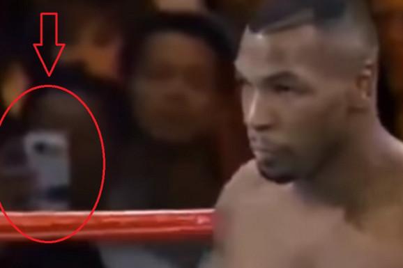 NIKAD REŠENA MISTERIJA! Na čuvenom Tajsonovom povratničkom meču svi su zapravo gledali u OVO -  mobilni sa kamerom u 1995. godini?!