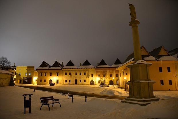 Spiska Sobota - Zima w Spiskiej Sobocie