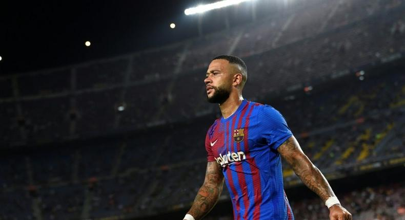 Memphis Depay made an assist on his Barcelona debut last weekend