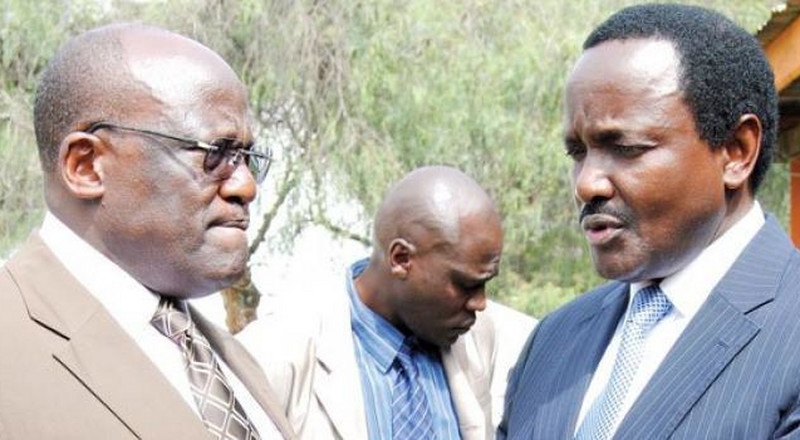 Why furious Muthama wanted to fight Kalonzo at a funeral in Machakos