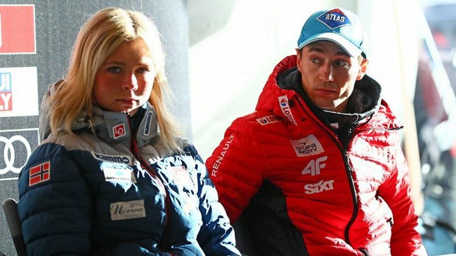 Maren Lundby i Kamil Stoch