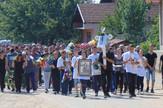 NIS05Vise od hiljadu mestana Malosista na sahrani Stefana Mitica iz MAlosista foto Branko Janackovic
