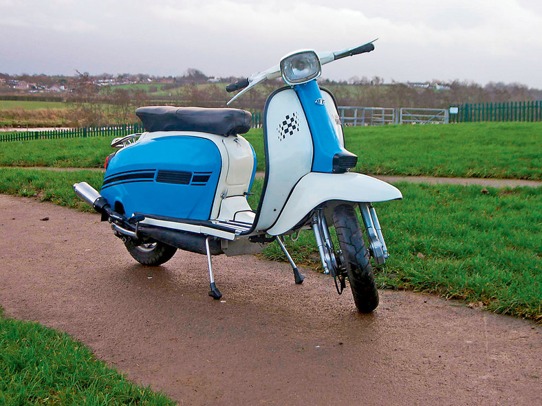 Lambretta Grand Prix  DL 150