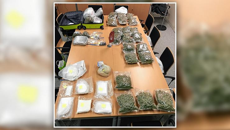 srbi crnogorci hapšenje austrija droga kokain marihuana