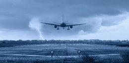 Samolot dostał piorunem. Na Śląsku problem