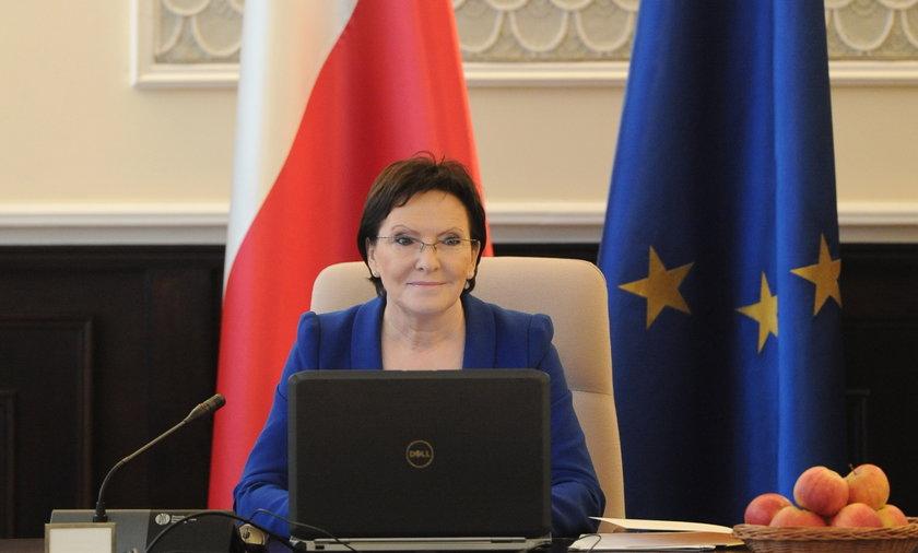 Pierwsze posiedzenie rządu Kopacz oraz