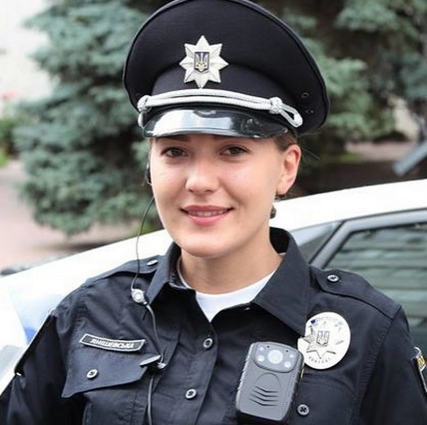 Policjantka z Kijowa