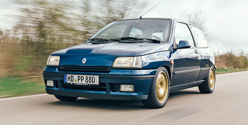 Renault Clio Williams - takich hot hatchy nam brakuje