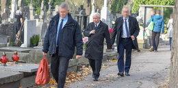 Prezes PiS odwiedził grób matki