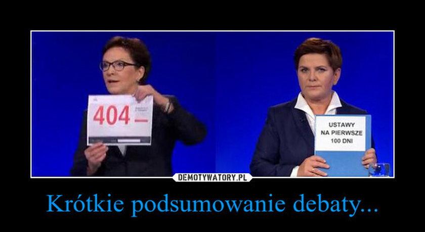 Memy z debaty