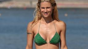 40-letnia Michelle Hunziker w bikini