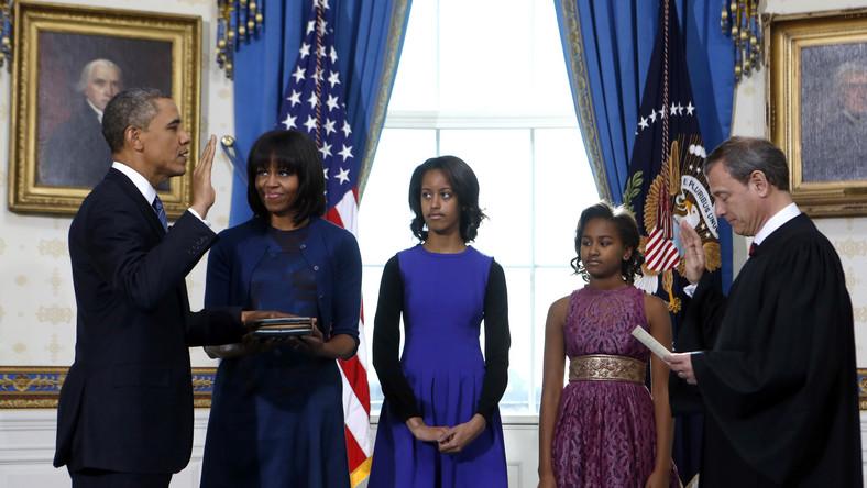 Barack Obama oficjalnie zaczął drugą kadencję