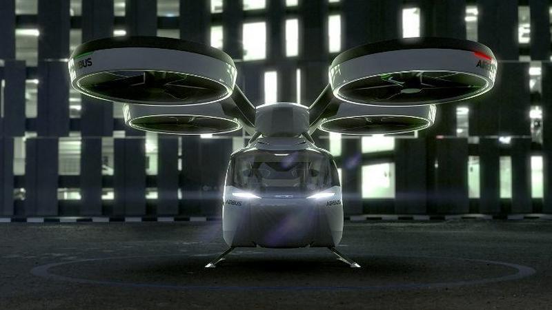 Pop.Up - Airbus przedstawił latający samochód