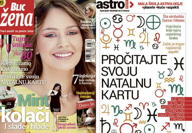 "Nova ""Blic žena"" na kioske stiže u subotu 6. jula"