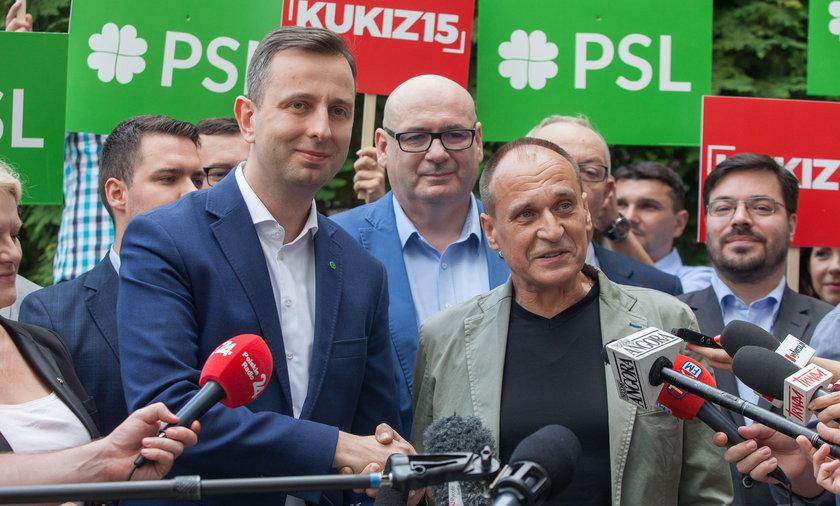 Władysław Kosiniak-Kamysz, Paweł Kukiz
