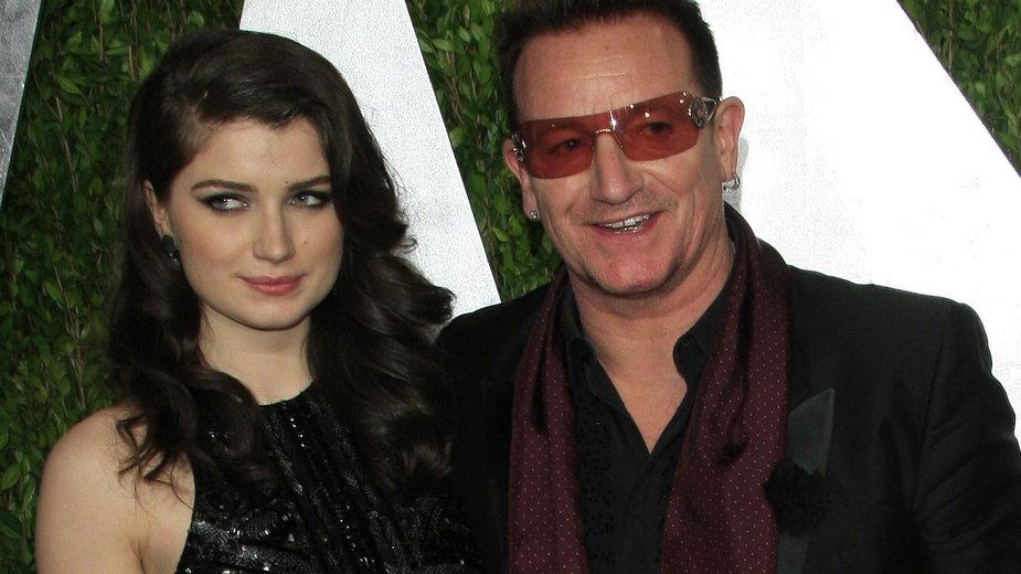 Bono i jego córka, Eve Hewson