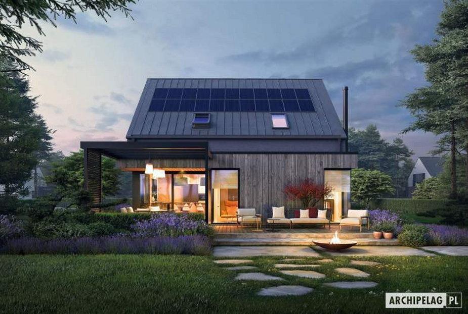 Piękny w swojej prostocie dom stodoła Mini 13