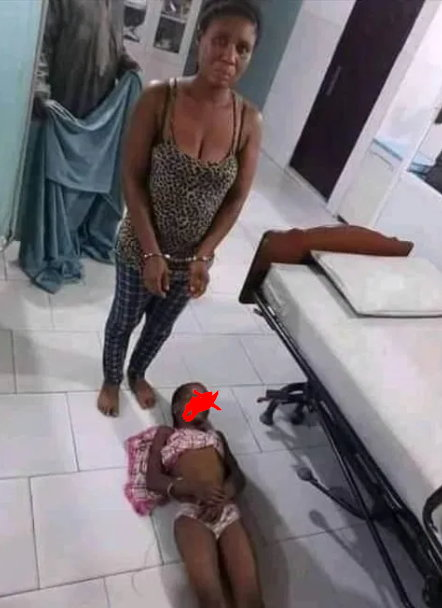 Soldier's wife arrested for beating stepdaughter to death (graphic photo)