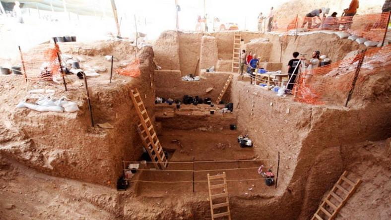 Wykopaliska w Izraelu