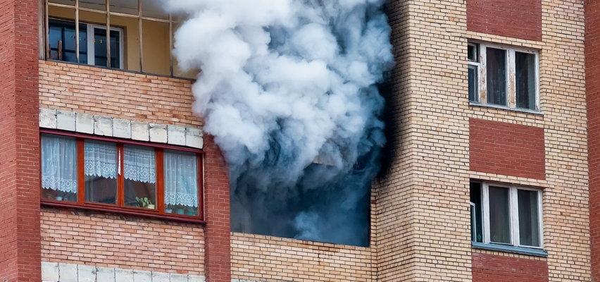 Pożar w centrum Wrocławia! Jedna osoba nie żyje