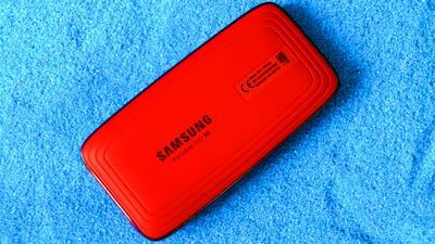 Bis zu 2800 MByte/s? Samsung Portable SSD X5 im Test