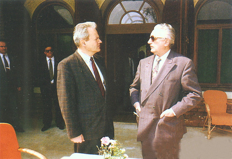 tuđman i milošević arhiva
