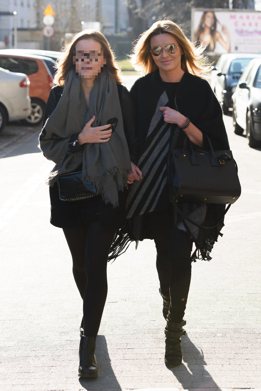 Hanna Lis z córką