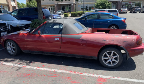 Mazda MX-5 w wersji... pick up