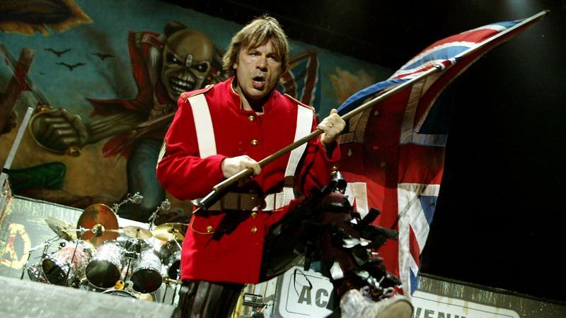 Bruce Dickinson, wokalista Iron Maiden