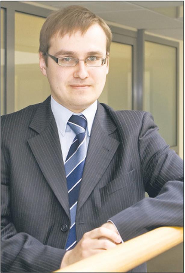 Maciej Górski doradca podatkowy w Dziale Doradztwa Podatkowego BDO Fot. Wojciech Górski