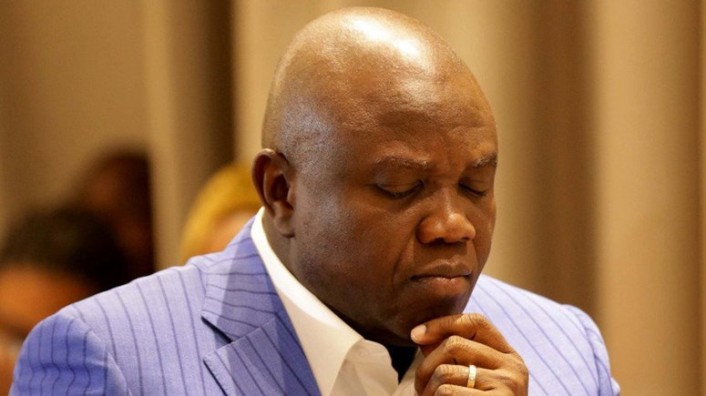 Former Lagos Governor Akinwunmi Ambode has been named in a billion Naira fraud committed on his watch  (Lagos govt house)