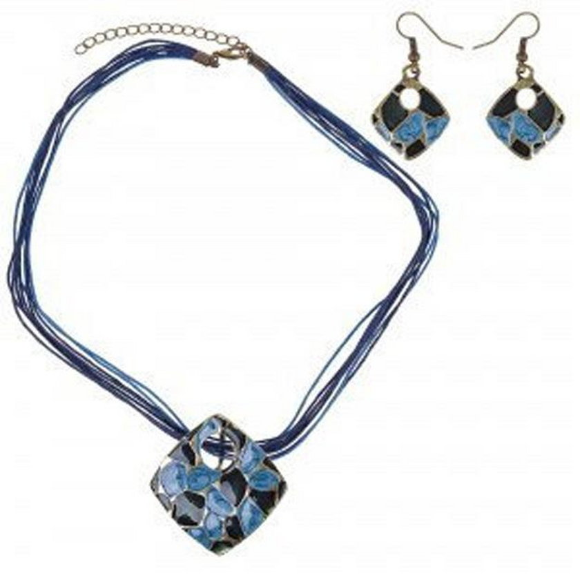 estaw biżuterii Durango na sznurkach 1C09-82781