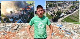 Nowa Biała wraca do życia po tragicznym pożarze. Nasza wieś powstaje z popiołów