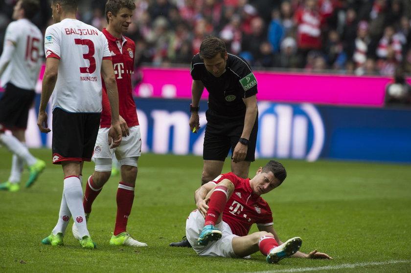 Brutalny faul na Lewandowskim. To mógł być koniec jego kariery