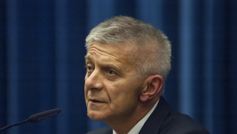 Szef NBP Marek Belka optymistycznie o gospodarce
