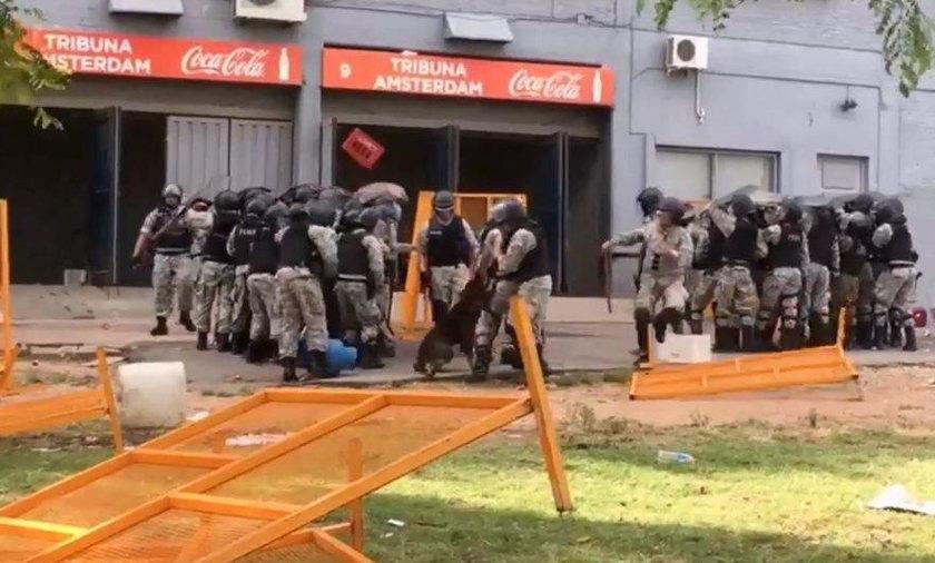 zamieszki Urugwaj