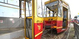 18 rannych w Łodzi. Zderzyły się tramwaje