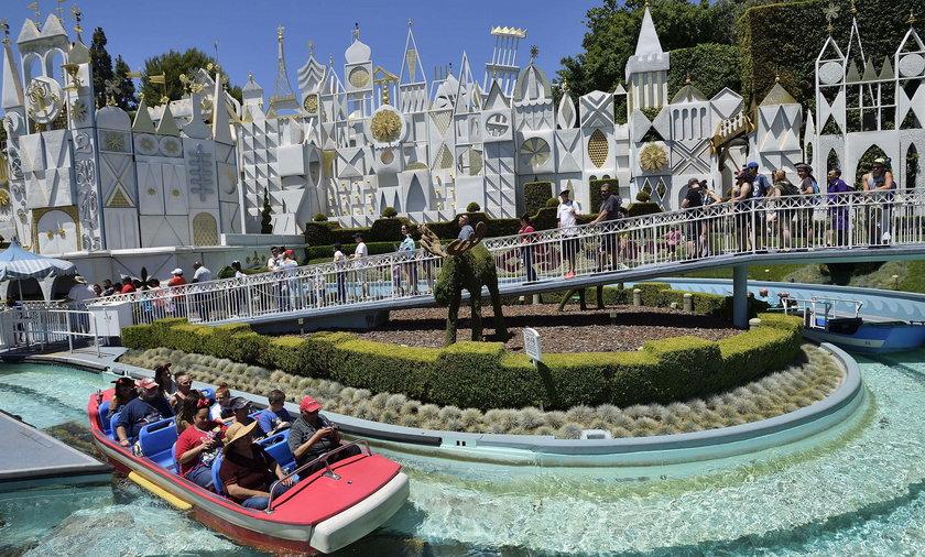 Bakteria Legionelli w Disneylandzie w Anaheim