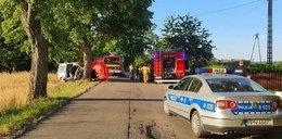 Makabryczny wypadek w pobliżu Słupska. Autem jechali ojciec z córką