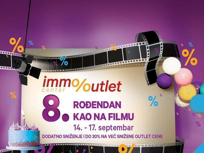 IMMO 8. rođendan, baš kao na filmu: Filmske projekcije, zabava za mališane i najbolje cene u gradu