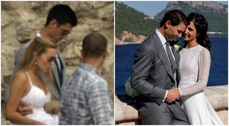 Venčanje Đoković i Nadal