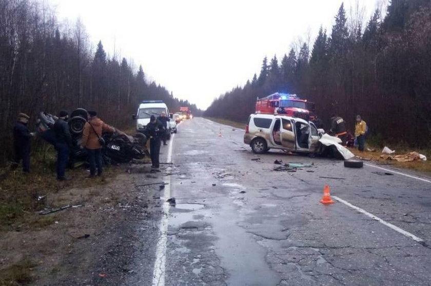 Rosja: w wypadku zginęły 3 osoby. Przeżyły krokodyl, wąż, jeż