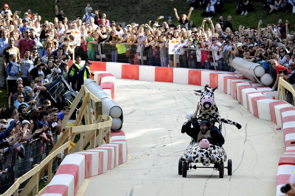 Red Bull Soapbox Race 2014 - Saint Cloud, Francja