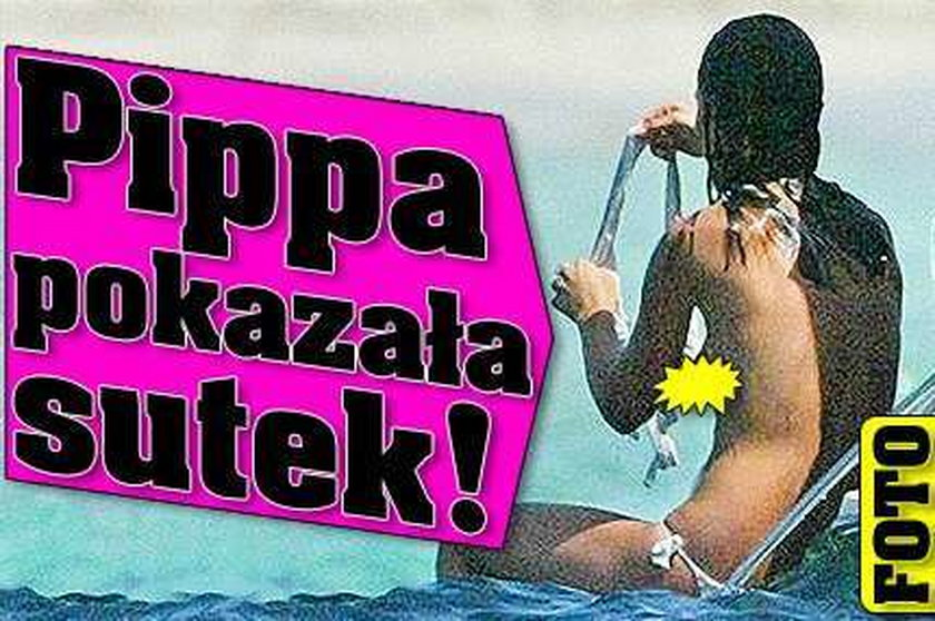 Pippa pokazała sutek! FOTO