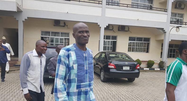 Abiri's appearance in court has elicited reaction from a group, Enough is Enough Nigeria, EiE, after his two years in detention.