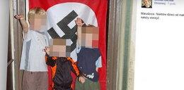 Polityk zamieścił zdjęcie dzieci ze swastyką! Ma problem