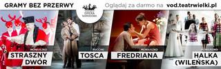 Opera i balet z najwyższej półki dostepne są online