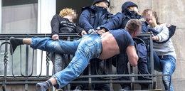 Dzielne policjantki uratowały desperata. O krok od tragedii