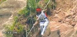 Nie do wiary! Spadł z wysokości 200 m i przeżył!